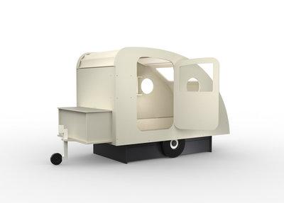 Mathy by Bols design Caravan bed 90x190 Grijs L.GREI