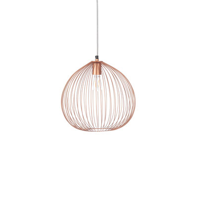 Kidsdepot Josie metalen hanglamp copper