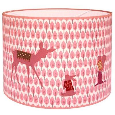 Taftan Hertje roze hanglamp