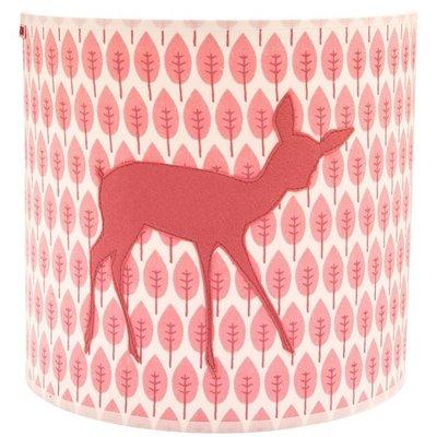 Taftan Hertje roze wandlamp