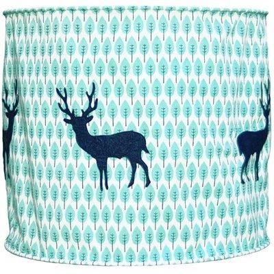 Taftan Hert blauw hanglamp zacht