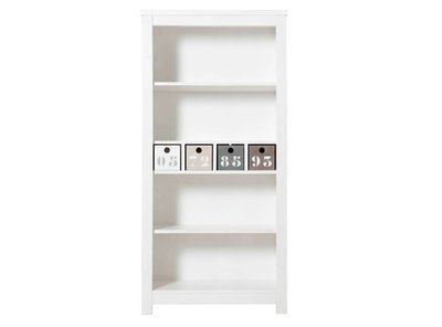 Bopita Basic wood boekenkast grenen white wash