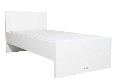 Bopita Camille tienerbed 90x200 hoog hoofdeind wit