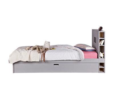VT Wonen junior Store 90x200 bed+slaaplade beton grijs