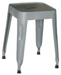 Kidsdepot Pure metalen kruk old grey