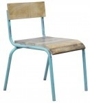 Kidsdepot Pure stoel old blue