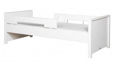 Bopita Jonne tiener bed 90x200 met uitvalbescherming wit