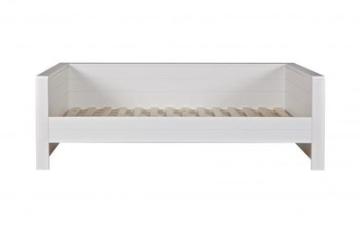 Woood Robin bedbank 90x200 grenen wit