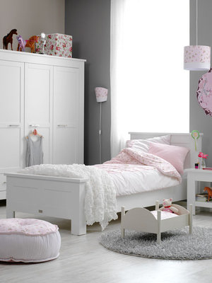 Coming kids New basic tienerbed 90x200 wit