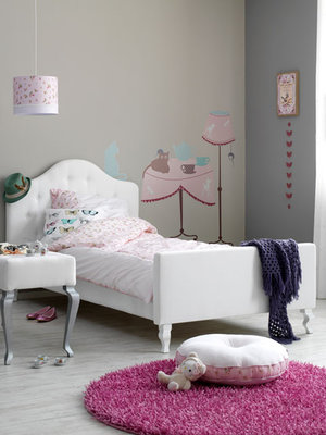 Coming kids junior Yara gestoffeerd bed 70x150