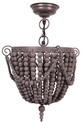 Kidsdepot bead hang lamp grey