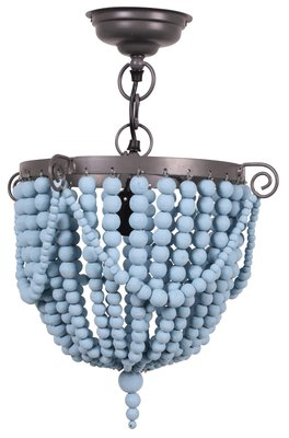 Kidsdepot bead hang lamp bue