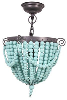 Kidsdepot bead hang lamp mint