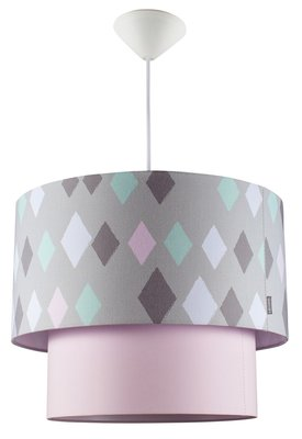 Kidsdepot Wieber kroonluchter hanglamp roze