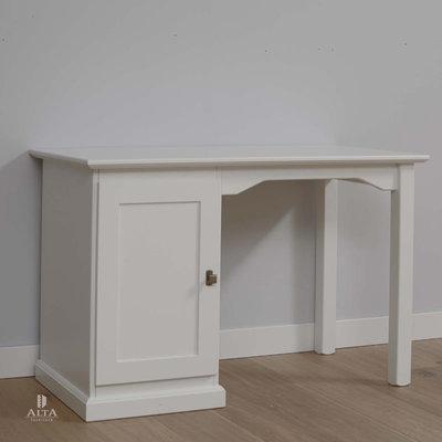 Alta 5467 bureau grenenhout wit
