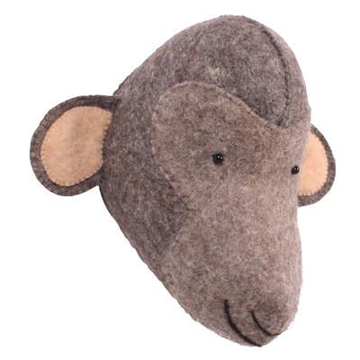 Kidsdepot Dierenkop aap bruin