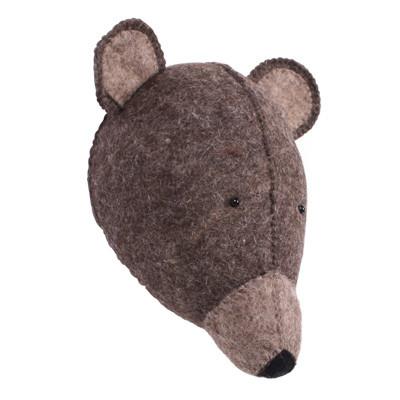 Kidsdepot Dierenkop beer bruin