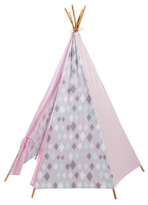 Kidsdepot Wieber wigwam tipi tent roze