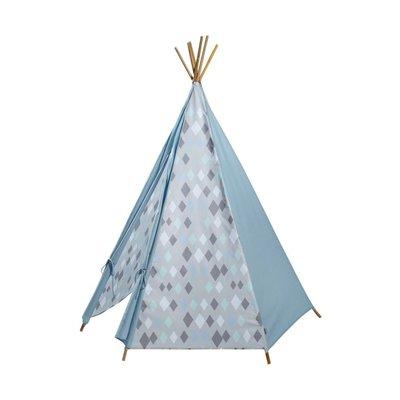 Kidsdepot Wieber wigwam tipi tent blauw