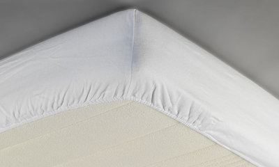 ABZ 70x150 Molton katoen wit