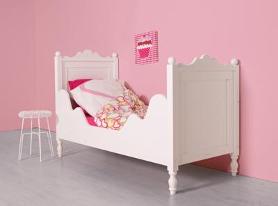 Bopita Belle peuter bed 70x150 wit