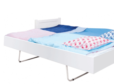 Bopita mix en match jump up bedlade 90x200 wit