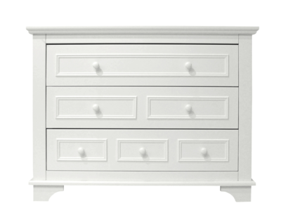 Bopita Charlotte 3 lade commode wit