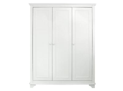 Bopita Charlotte 3 deurs kleding kast wit