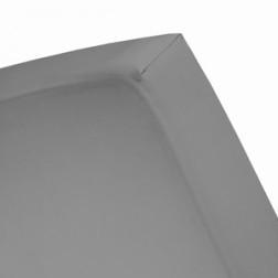 120x200 10-15 cm hoeslaken katoen grey 95