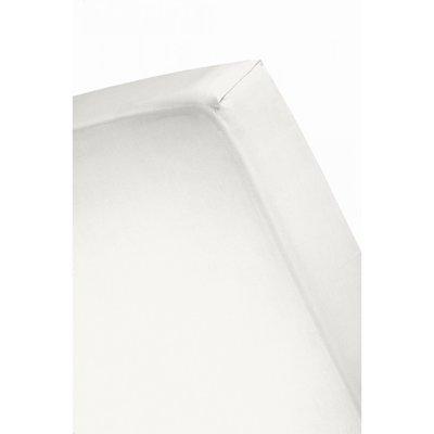 120x200 tot 25 cm hoeslaken katoen wit