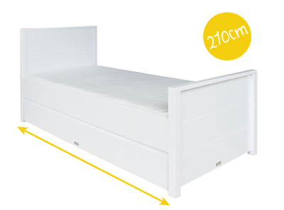 Bopita bed Bobby 90x210 bed wit