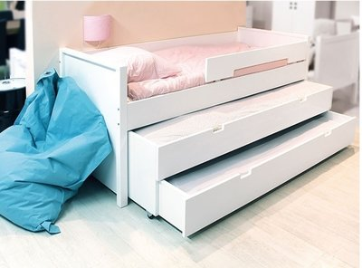 Bopita dubbele slaaplade unit excl bed