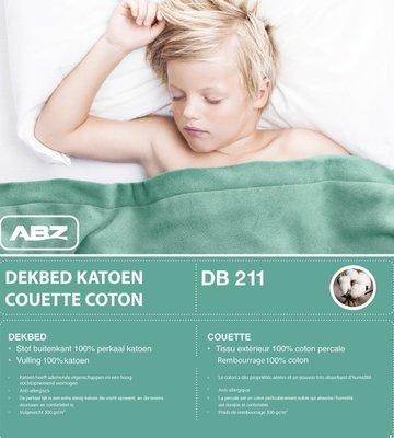 ABZ 100% katoenen 140x200 dekbed 1-persoon bed