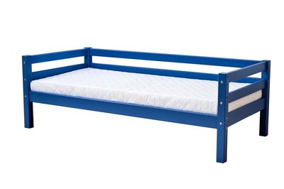 Hoppekids blauw junior Basic sofabed 70 x 160