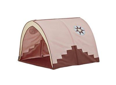 Hoppekids Indian girl tunnel tent tbv 90x200 bedden