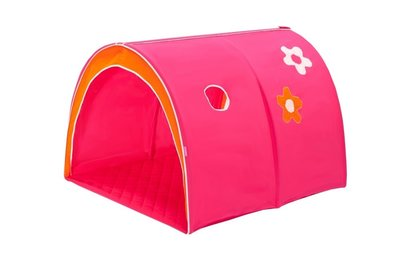 Hoppekids flower power tunnel tent tbv 90x200 bedden