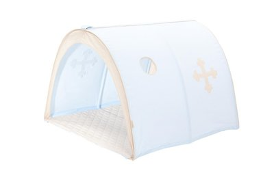 Hoppekids fairytail knight power tunnel tent tbv 90x200 bedden