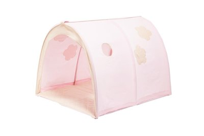 Hoppekids fairytail flower power tunnel tent tbv 90x200 bedden