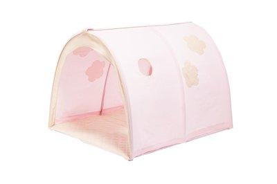 Hoppekids fairytail flower power tunnel tent tbv 90x200 bedden