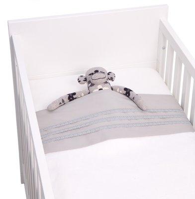 Kidsdepot baby laken set naturals silver