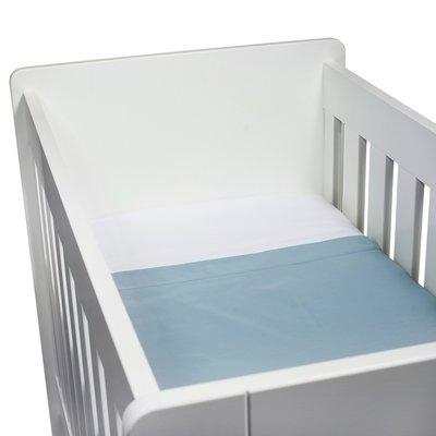 Kidsdepot baby laken set wieber blauw