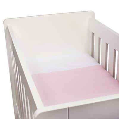 Kidsdepot baby laken set wieber roze