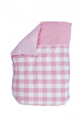 Bink Bedding baby overtrekje Jip roze 100x135