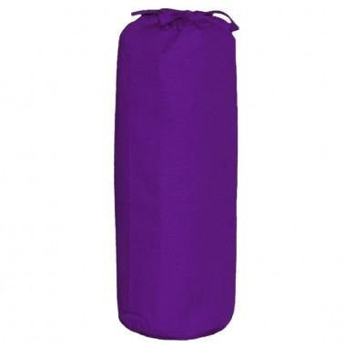 Taftan hoeslaken uni paars