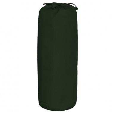 Taftan hoeslaken uni donker groen