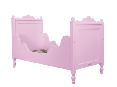 Bopita Belle junior bed 70 x 150 roze