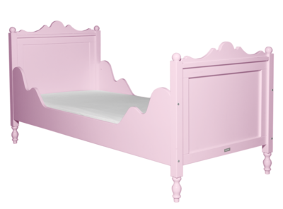 Bopita Belle bed 90 x 200 roze