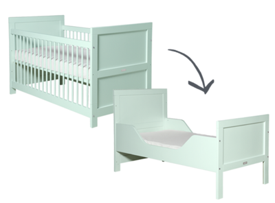 Bopita mint mix & match cotbed 70 x 140