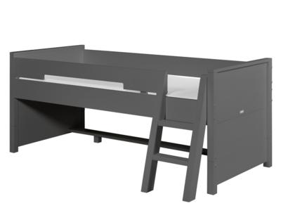 Bopita combiflex compactbed 90 x 200 excl. bakken en trap deep grey