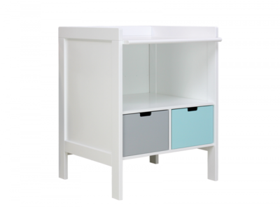 Bopita babyflex combi-commode 75 cm large wit